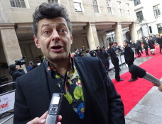 Jameson Empire Awards 2015:  Andy Serkis aka Gollum from LoTR & The Hobbit