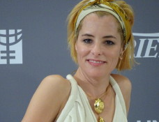 Parker Posey at He For She panel.