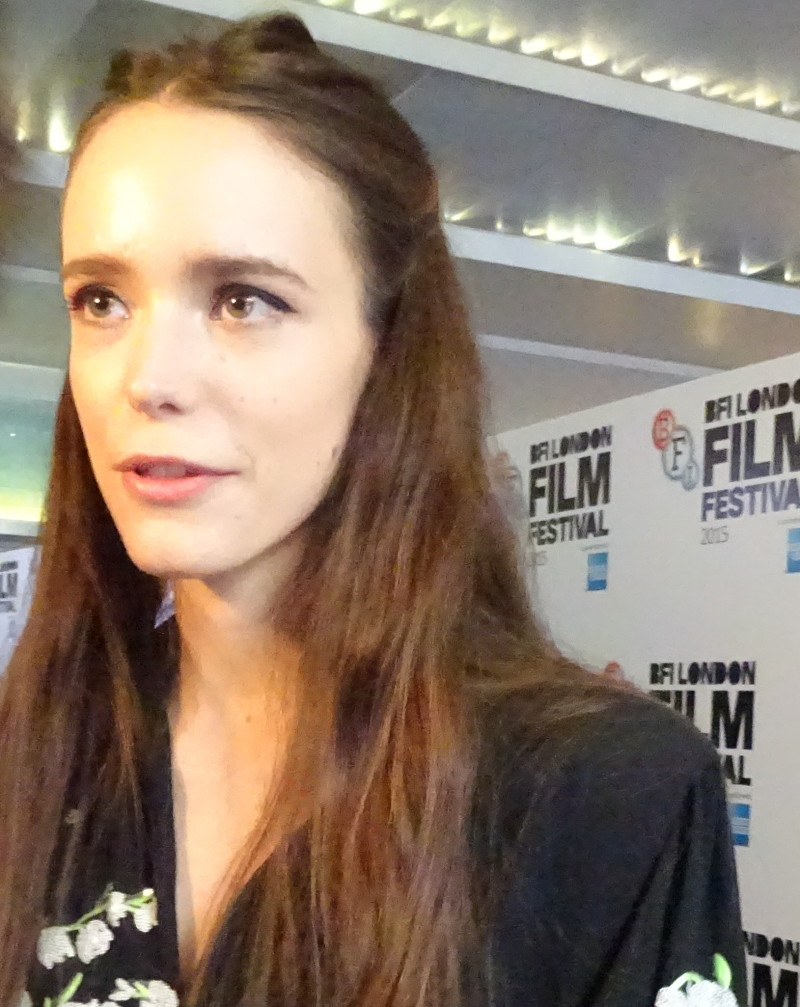 stacy martin gif hunt