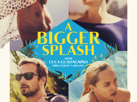 A Bigger Splash UK Poster