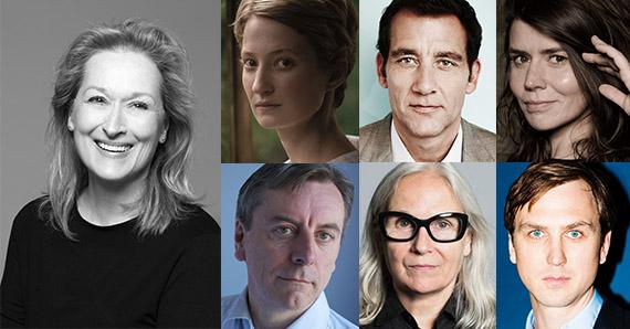 Berlinale International Jury with Meryl Streep, Clive Owen, Alba Rohrwacher