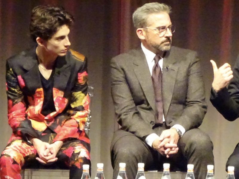 BFI London Film Festival: Beautiful Boy stars Timothee Chalamet & Steve Carell